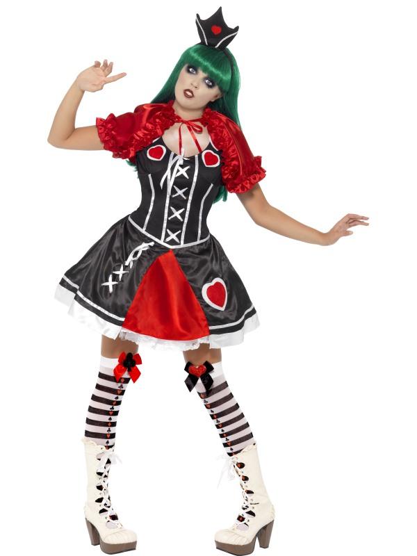 Gothic Queen of Hearts Halloween Costume