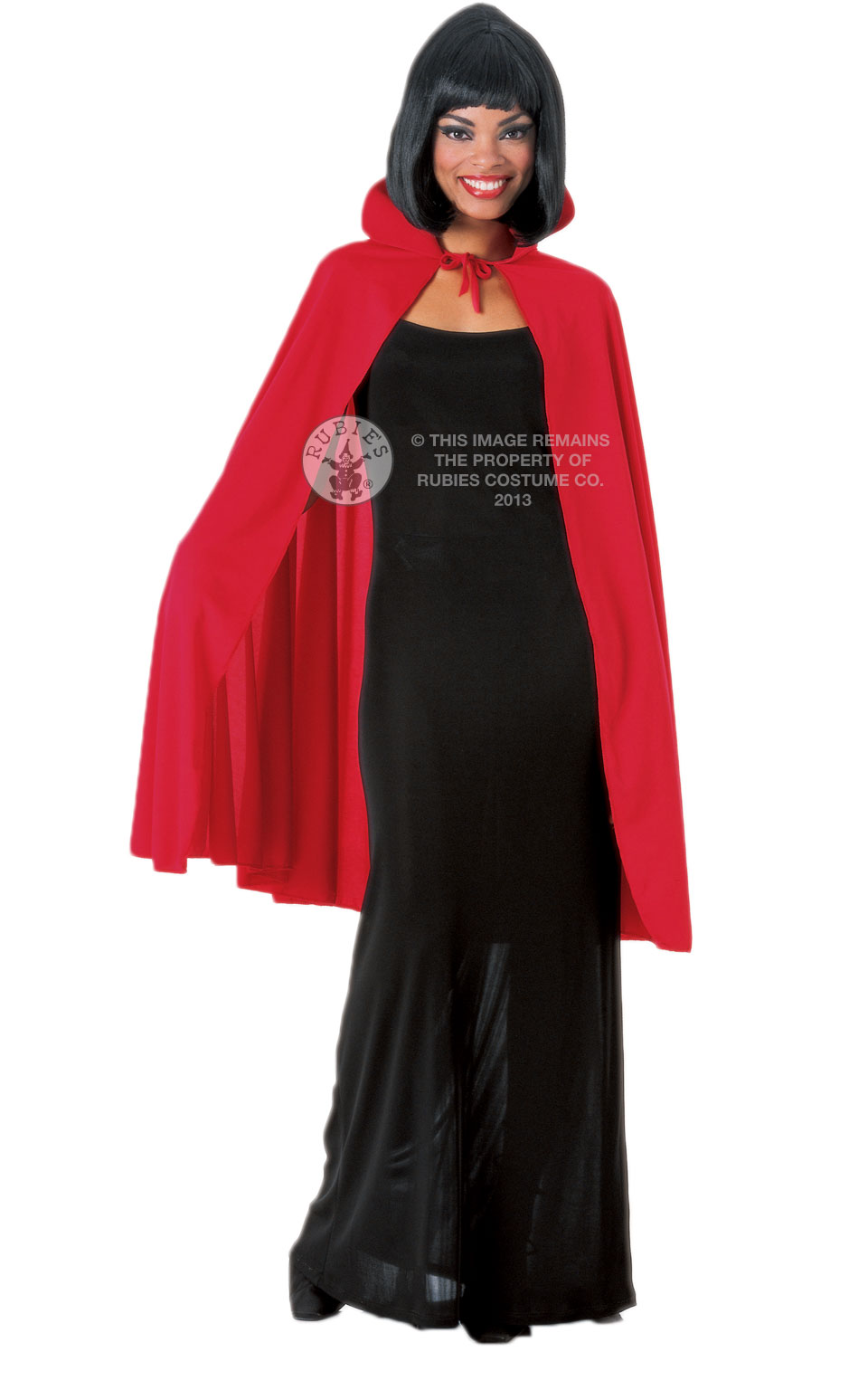 Ladies Red Vampire Cape