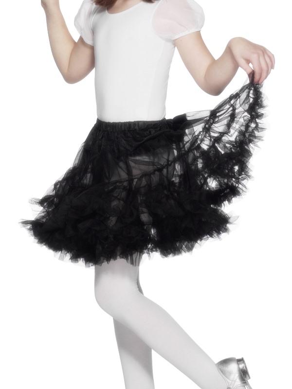 Childs Black Petticoat