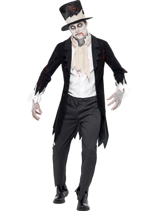 Adult Zombie Groom Costume