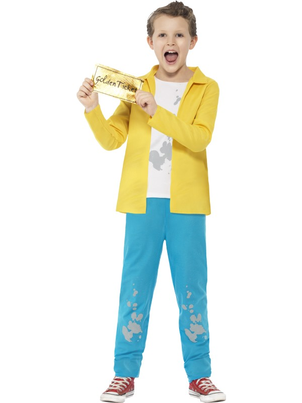 Roald Dahl Charlie Bucket Costume