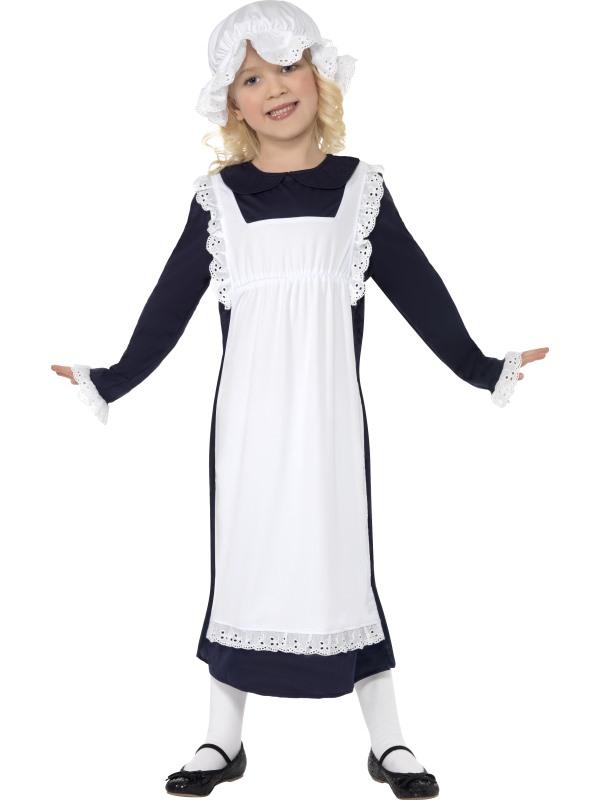 Childs Poor Victorian Girl Costume