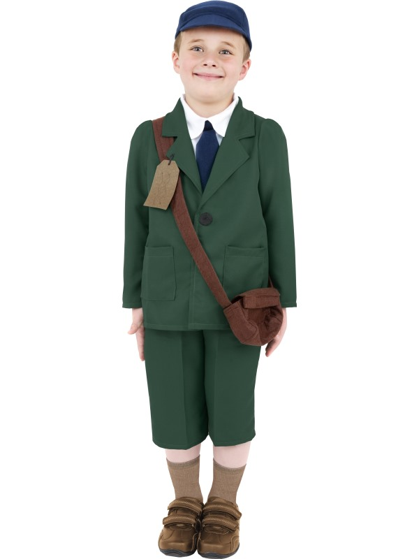 Childs WW2 Evacuee Boy Costume