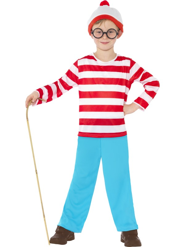 Childs Where's Wally Costume