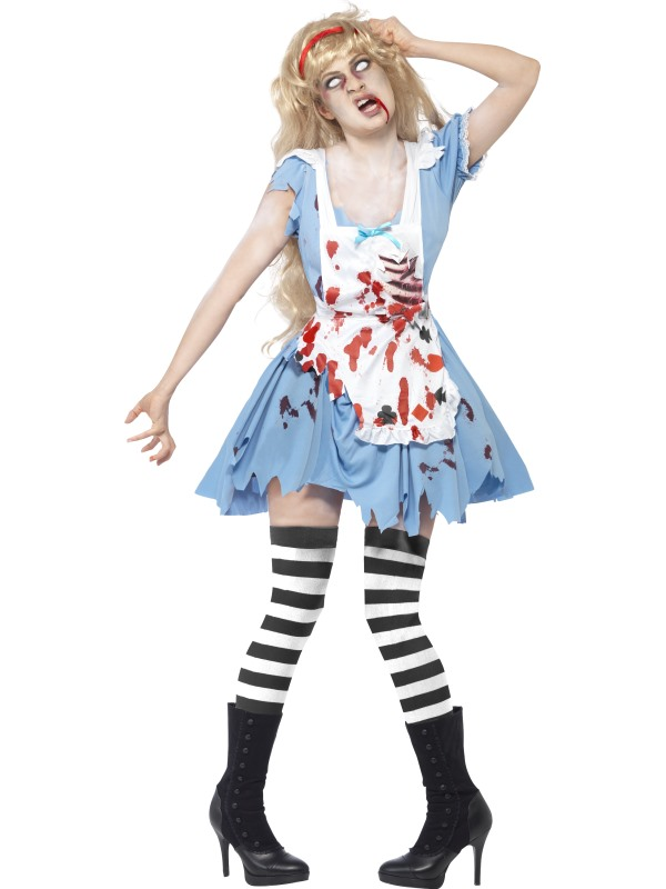 Zombie Alice in Wonderland Dress