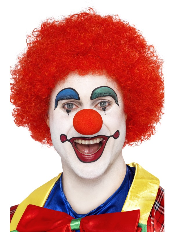 Male Red Clown Wig