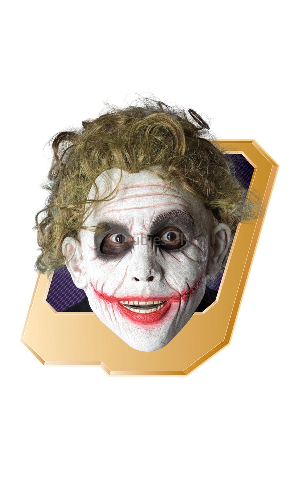 Curly Green Joker Wig