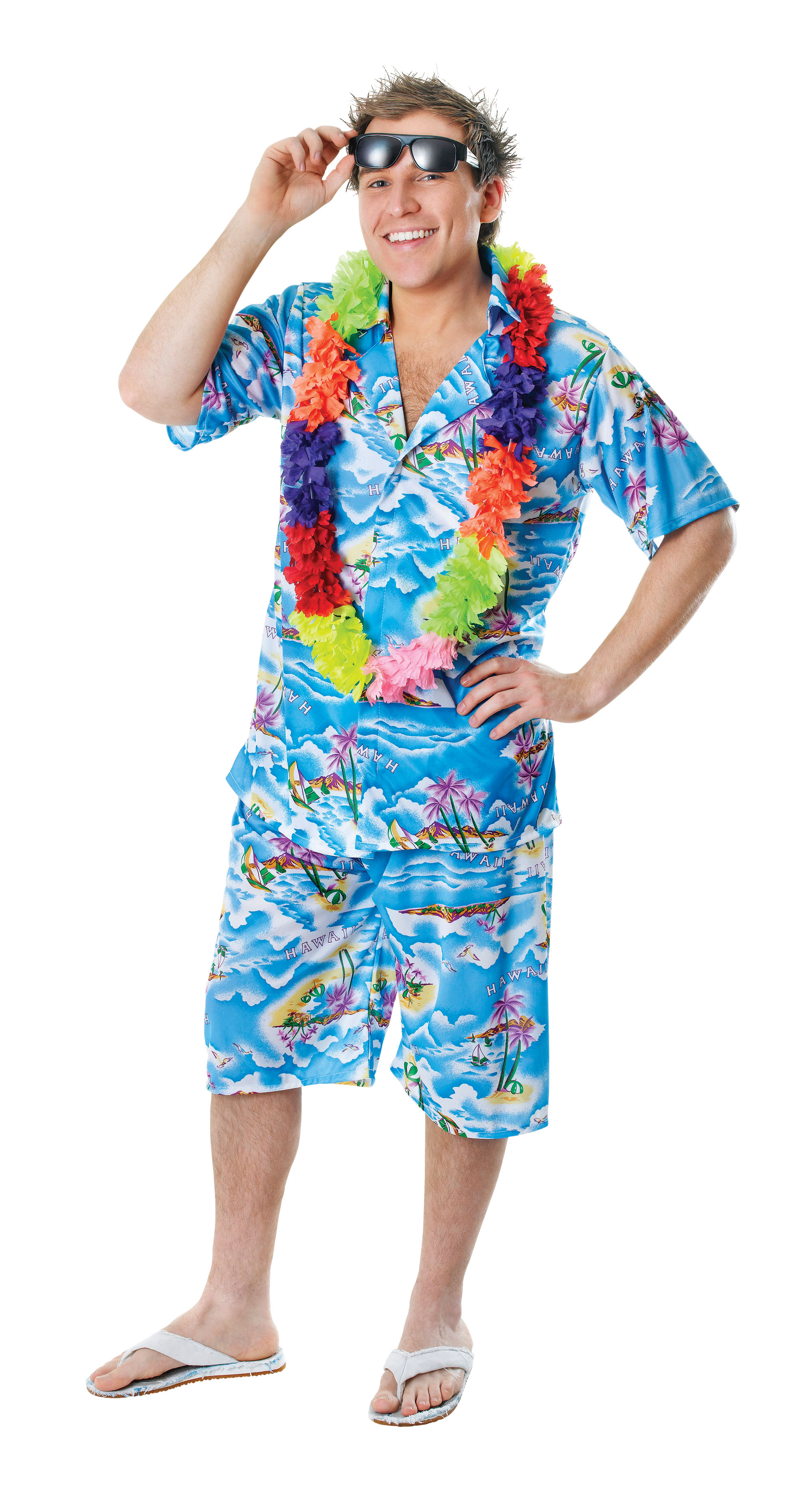 Adult Hawaiian Man Costume