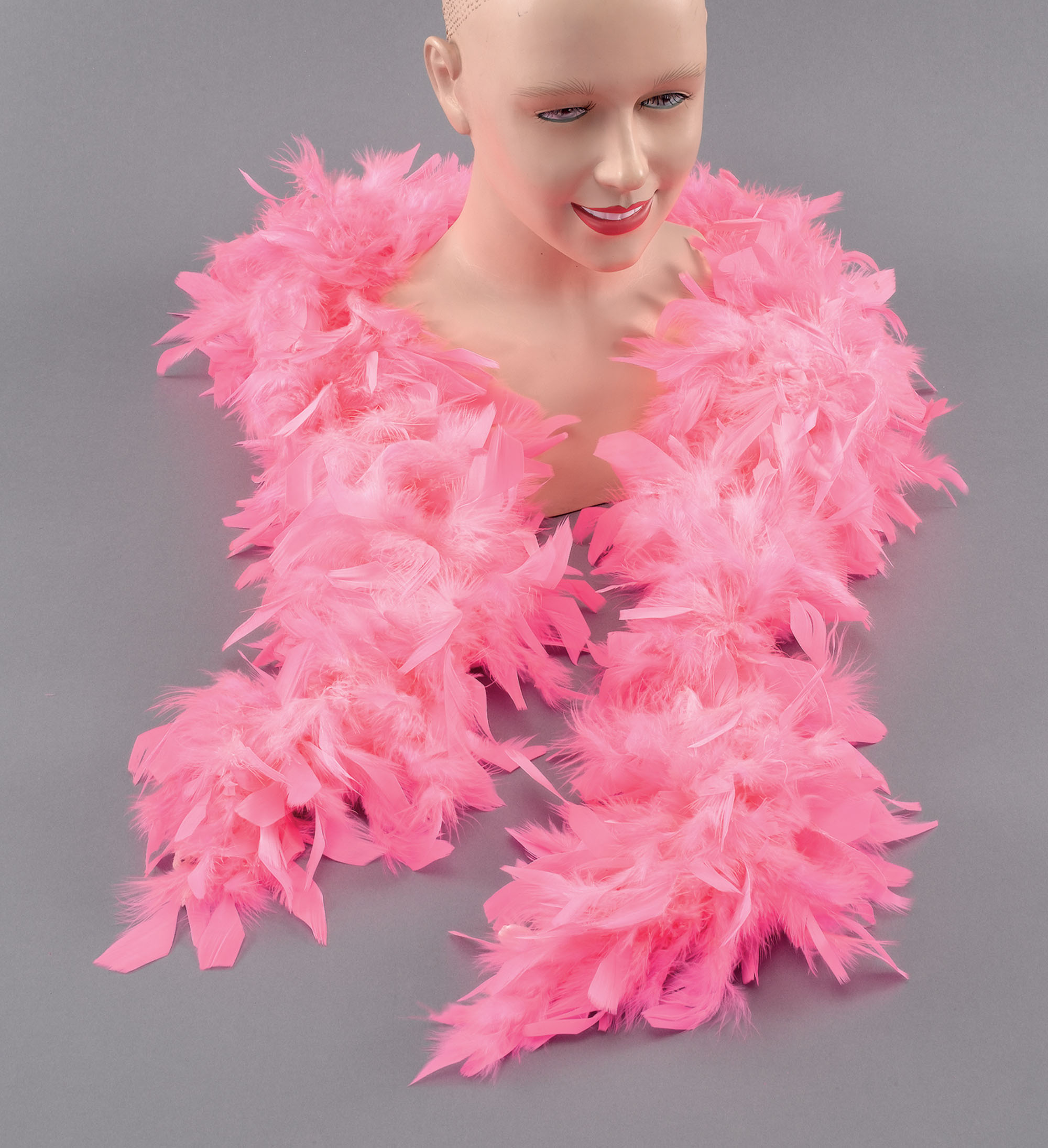 1920s Pink Feather Boa