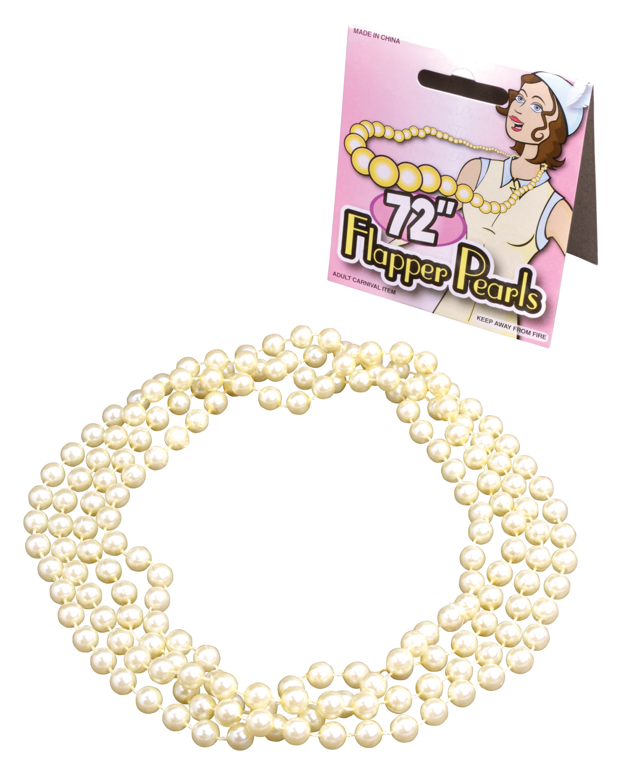 1920s Pearl Flapper Beads