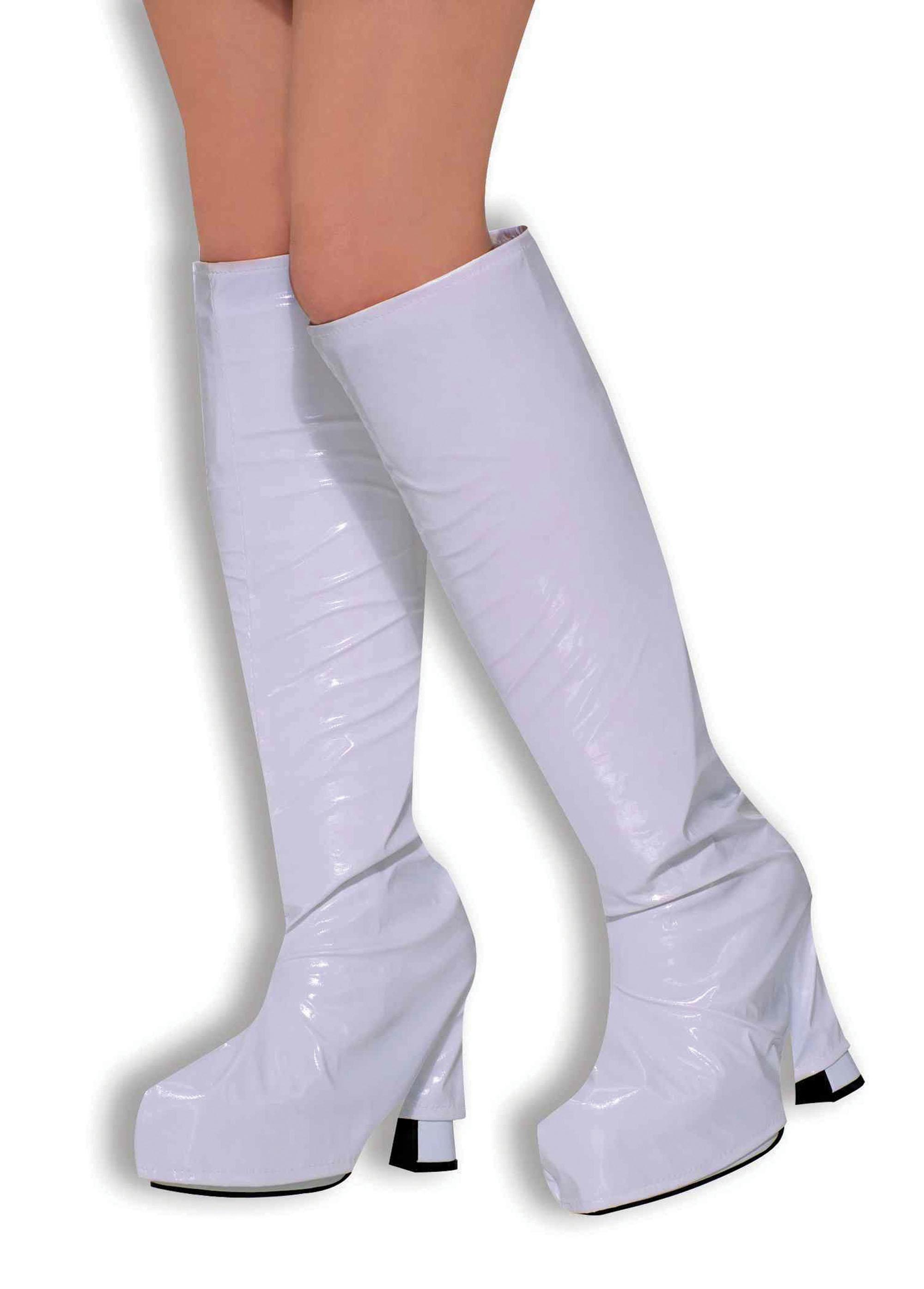 White Boot Tops