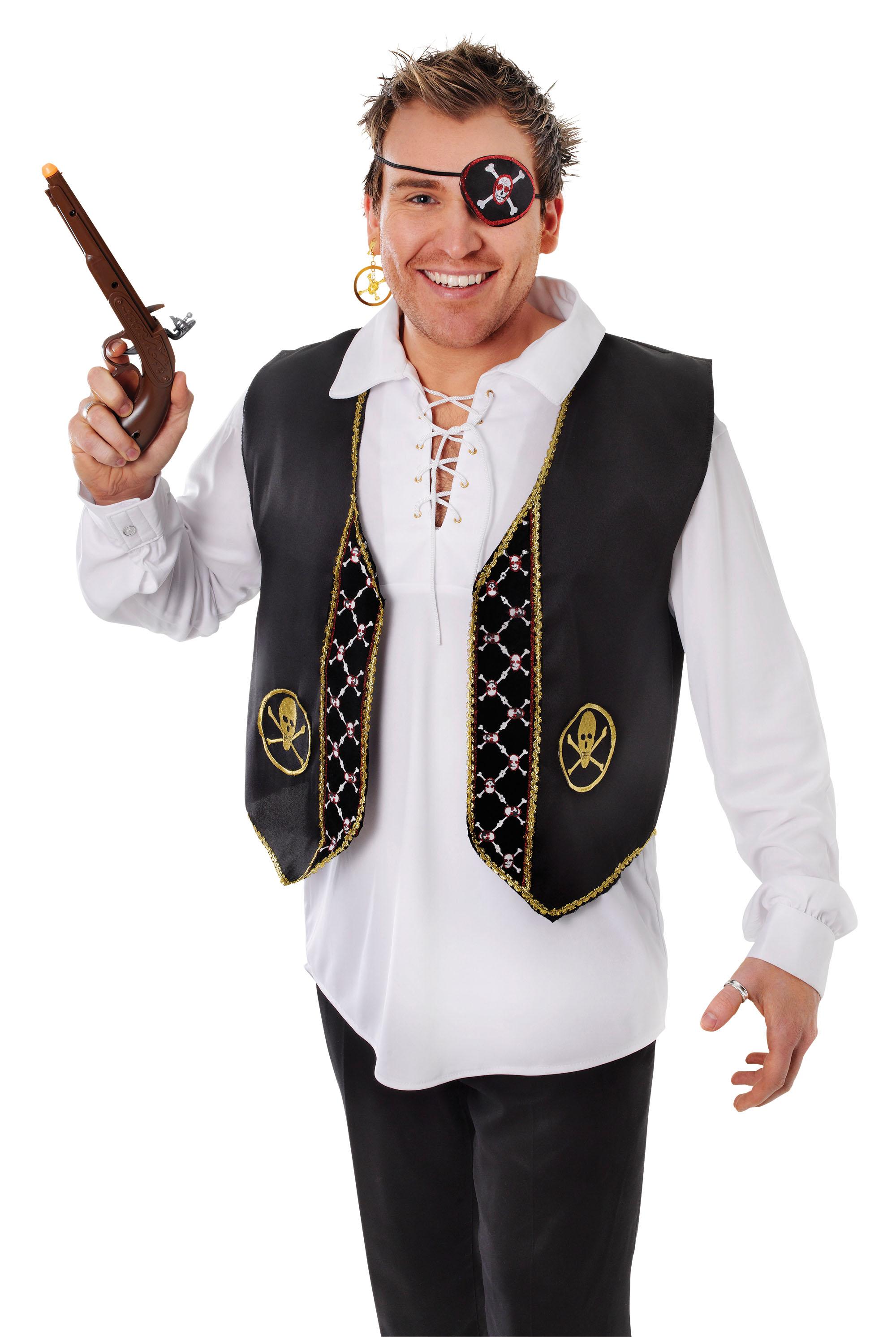 Adult Pirate Waistcoat-Vest