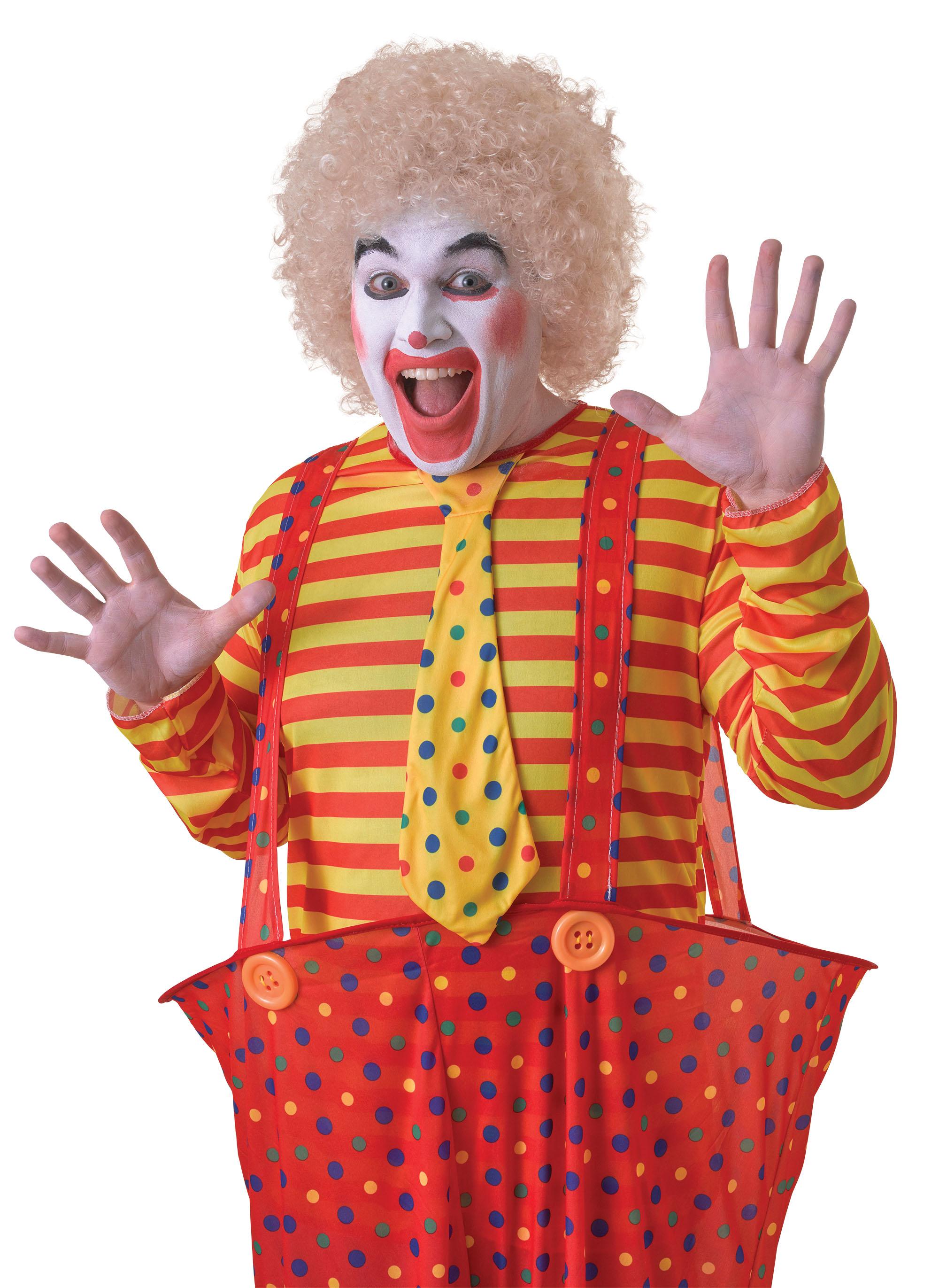 Blonde Clown, Afro Wig