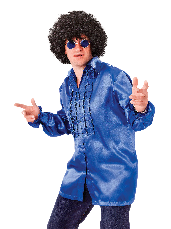 Black Afro 1970s Wig