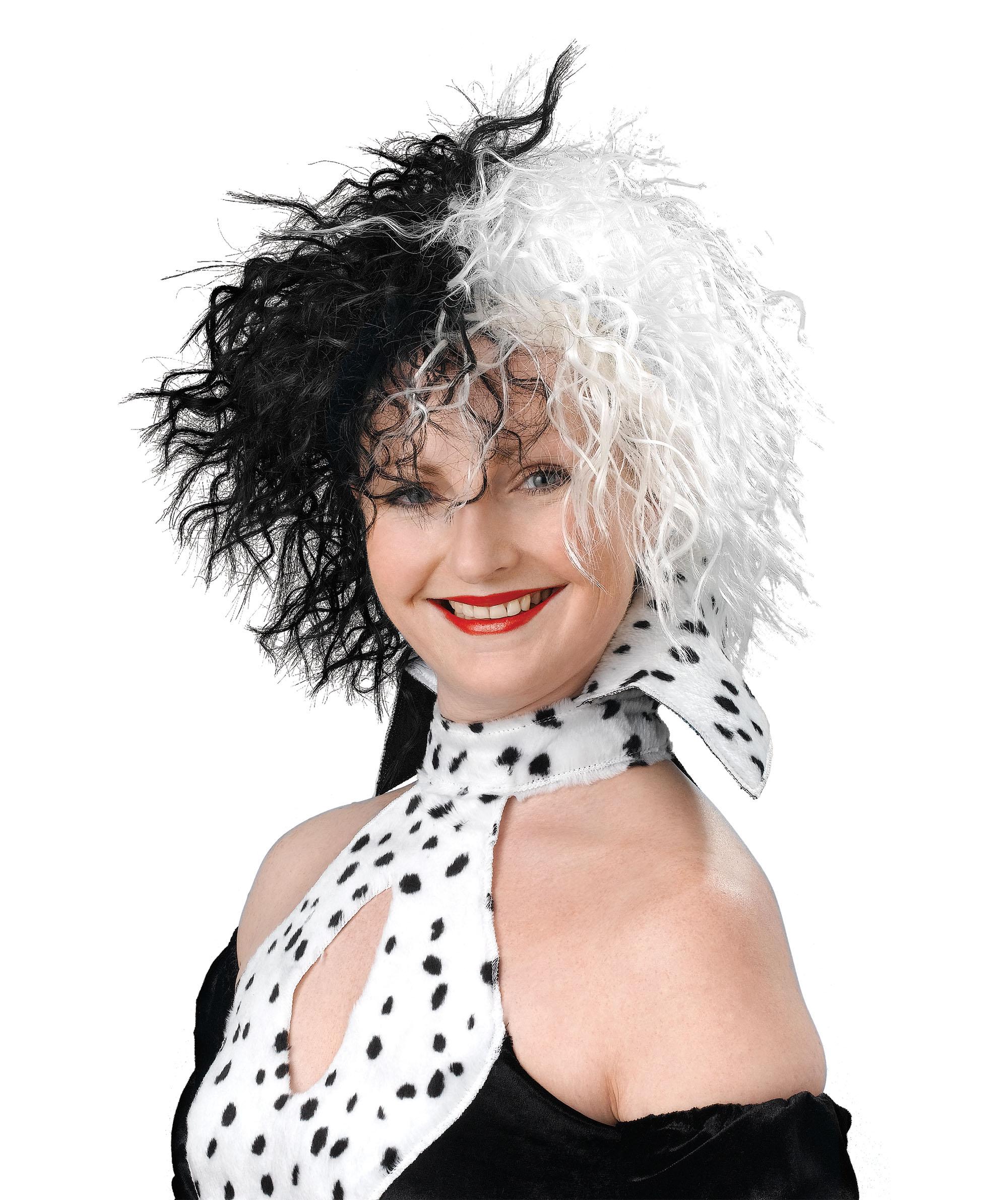 Cruella Costume Wig