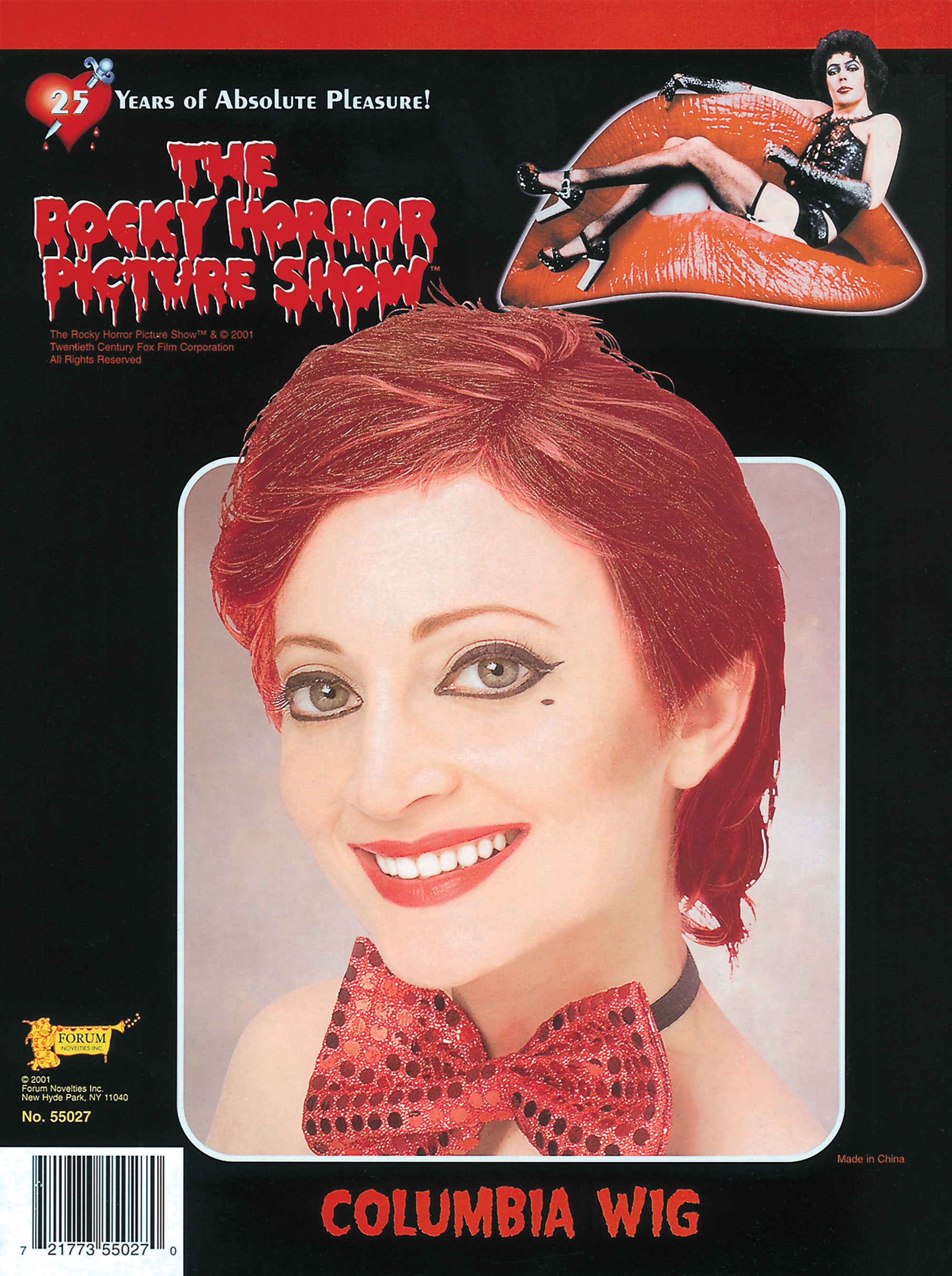 Rocky Horror Columbia Wig
