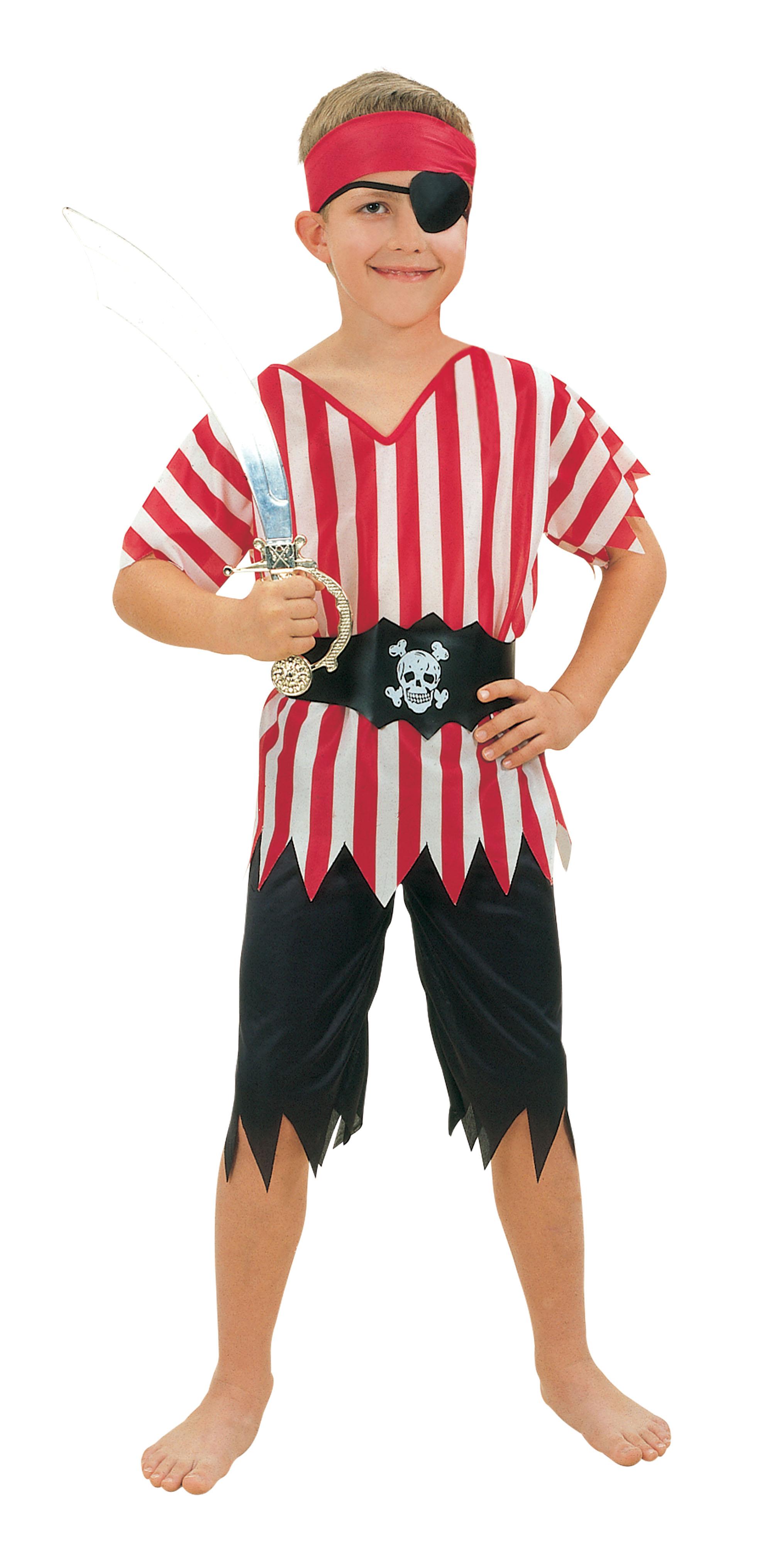 Childs Pirate Boy Costume