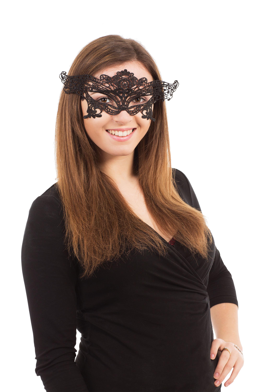 Black Lace Eyemask