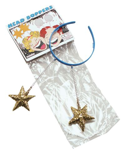 Head Boppers with Gold Stars