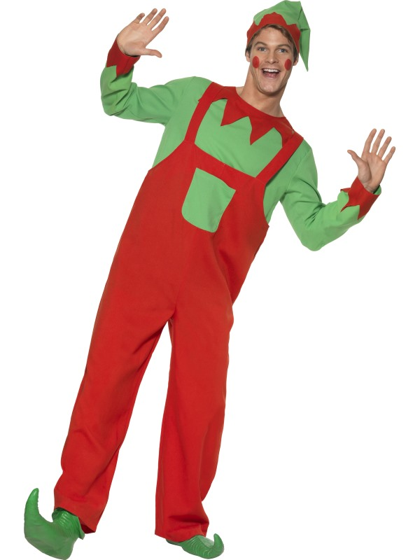 Adult Workshop Elf Costume