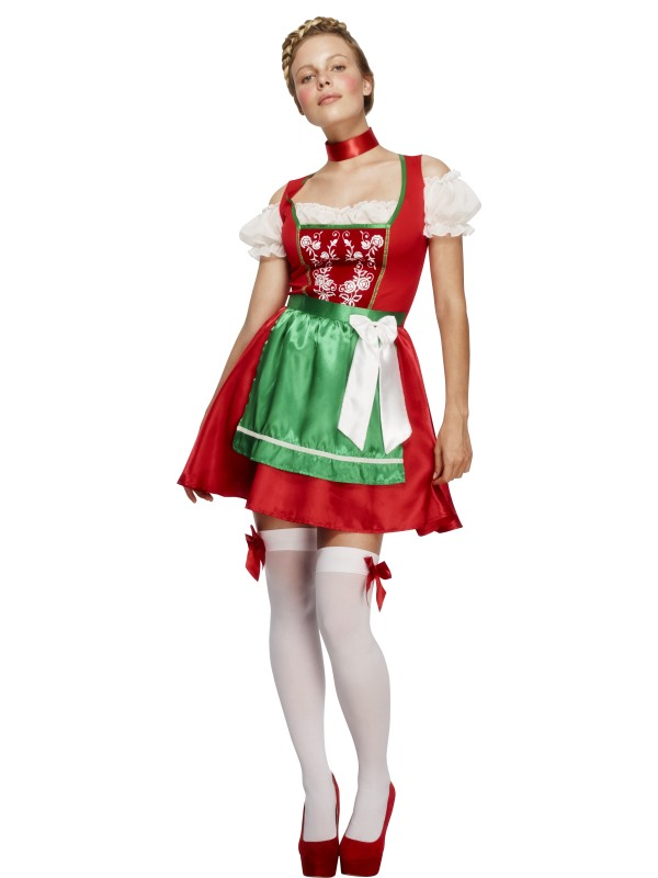 Ladies Fever Christmas Dirndl Costume