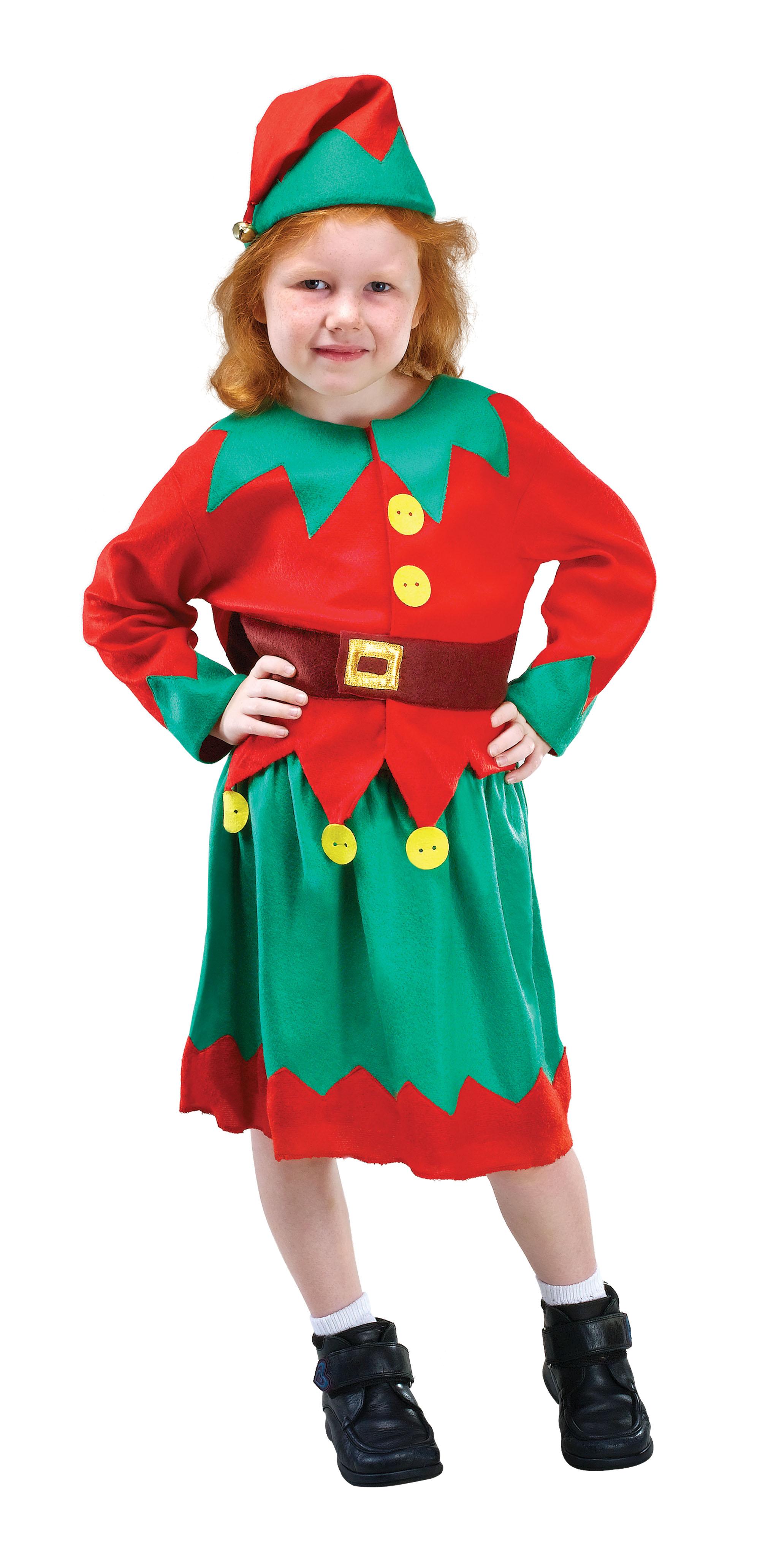 Childs Santa's Helper, Elf Costume.