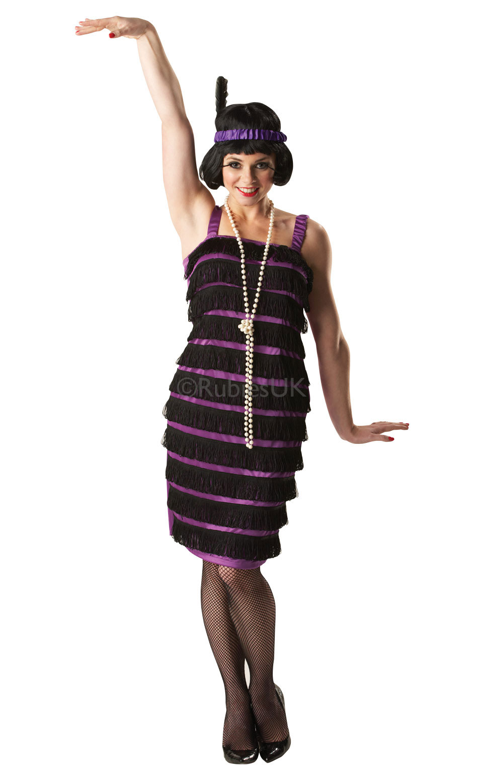 Ladies 1920s Flapper Dress