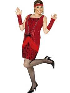 a080e92efc4 Red Flapper Costume - Glitz Fancy Dress