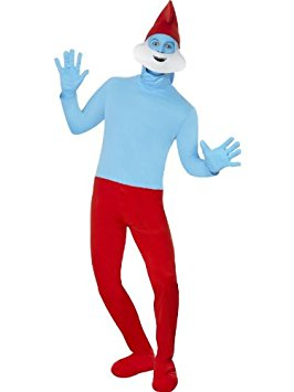Papa Smurf Adult Costume