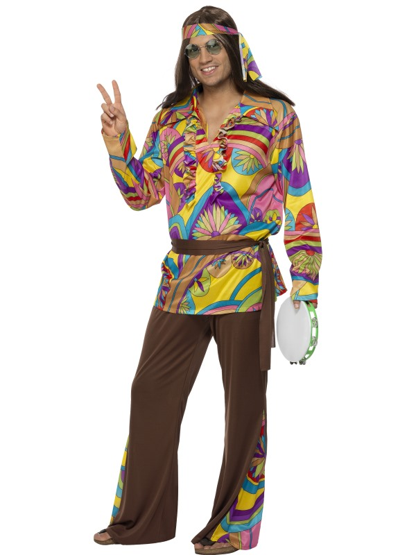 1960s Hippy Man Costume