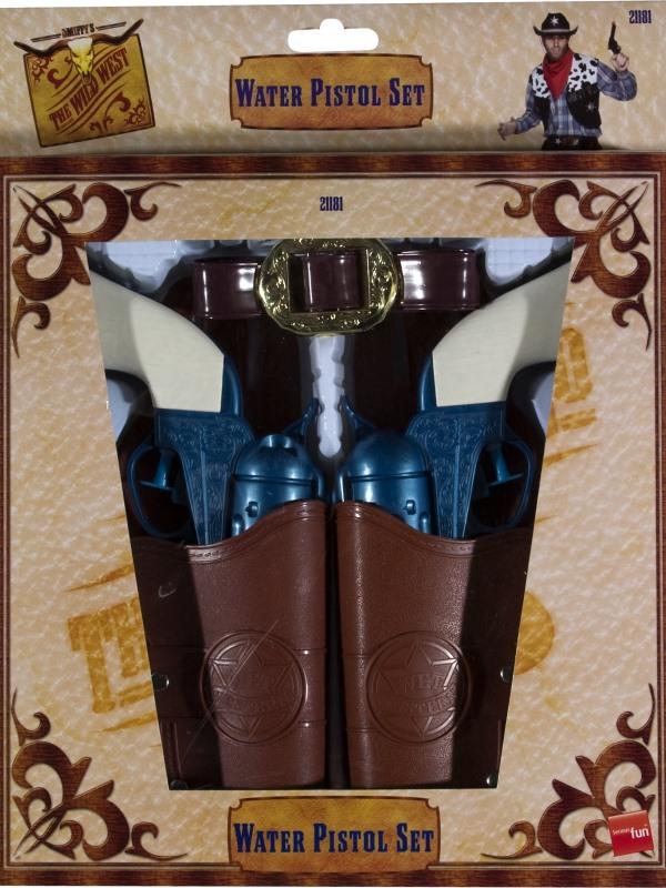 Cowboy-Wildwest Water Pistol Set