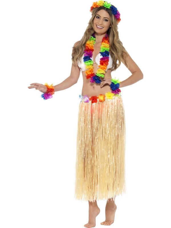 Hawaiian Garland Headband and Wristband