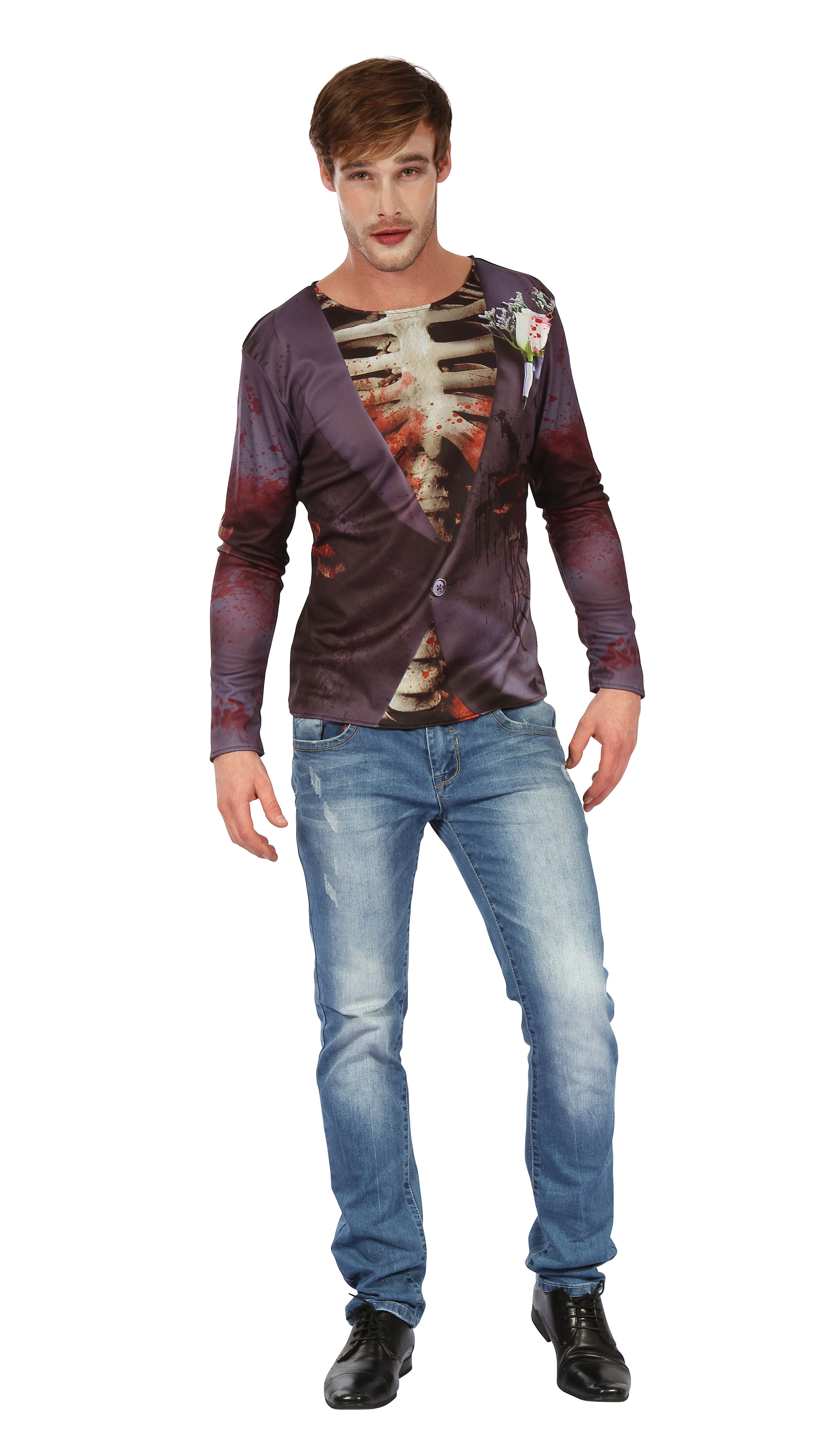 Zombie Bridegroom 3D Print Shirt