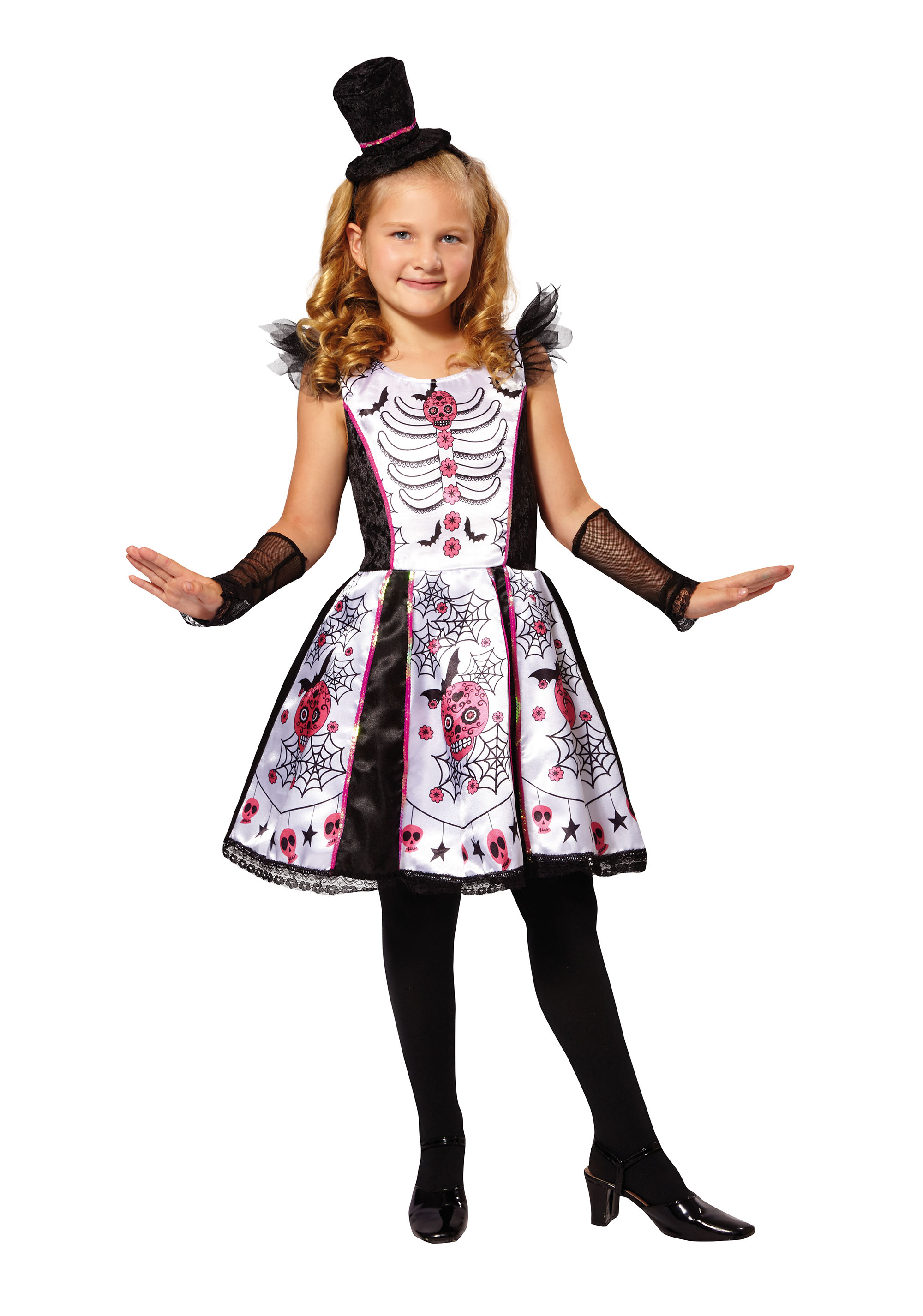 Child's Skeleton Beauty Costume