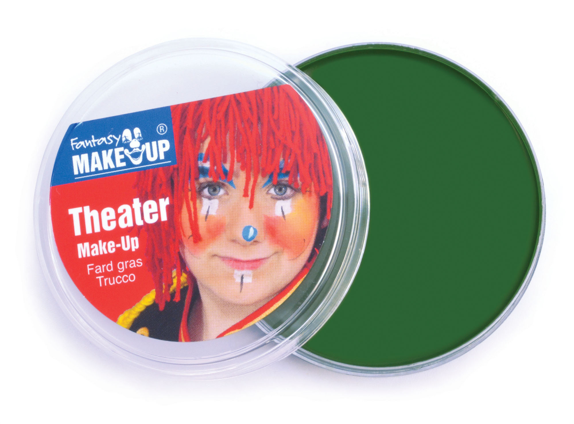 Green Theater Makeup in Compact