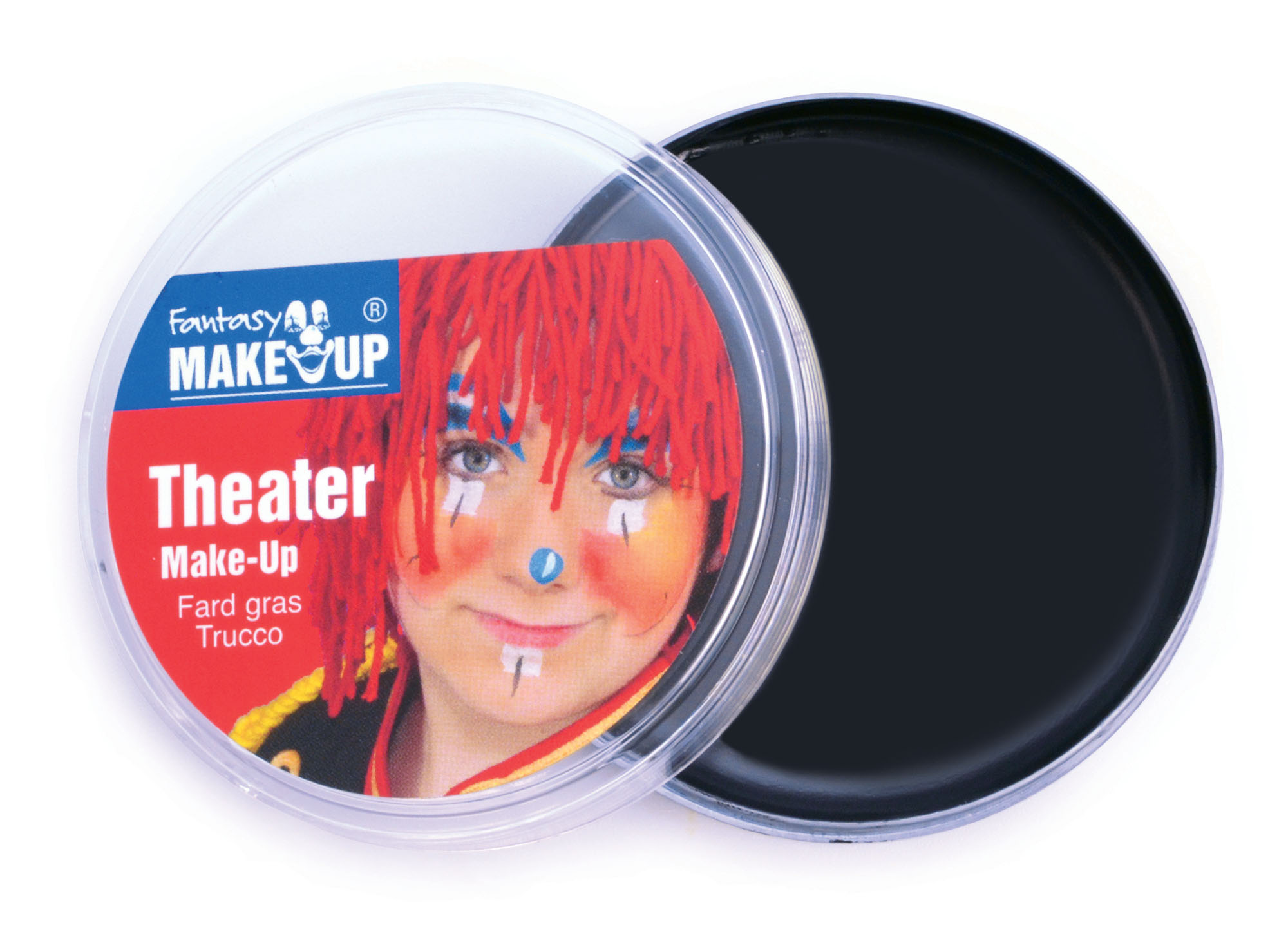 Black Face and Body Theater Make up in Compact