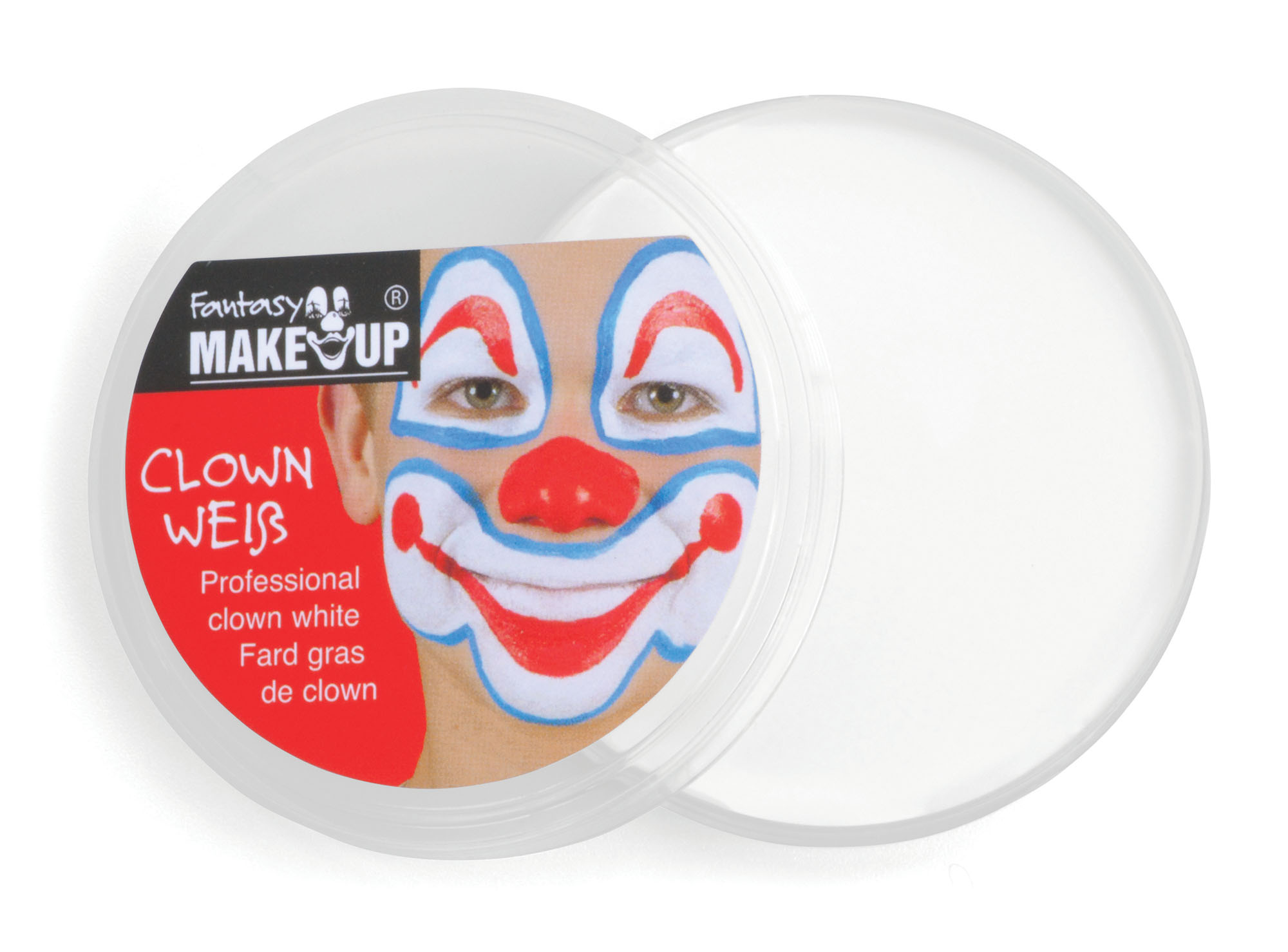 White Face and Body Make up in Compact