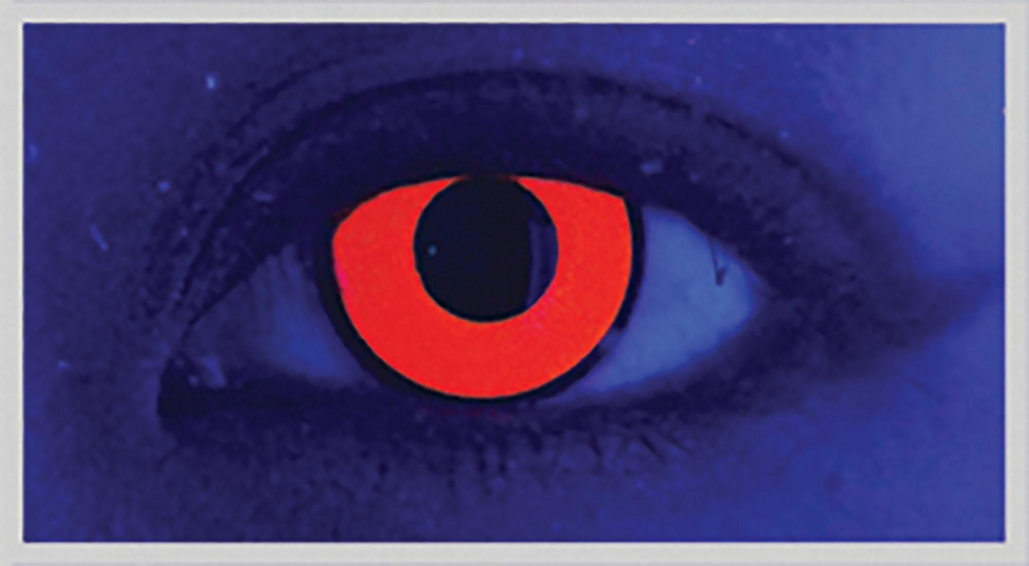 One Pair of Xtreme Eyez. 1 Day Lens. UV Vino Red