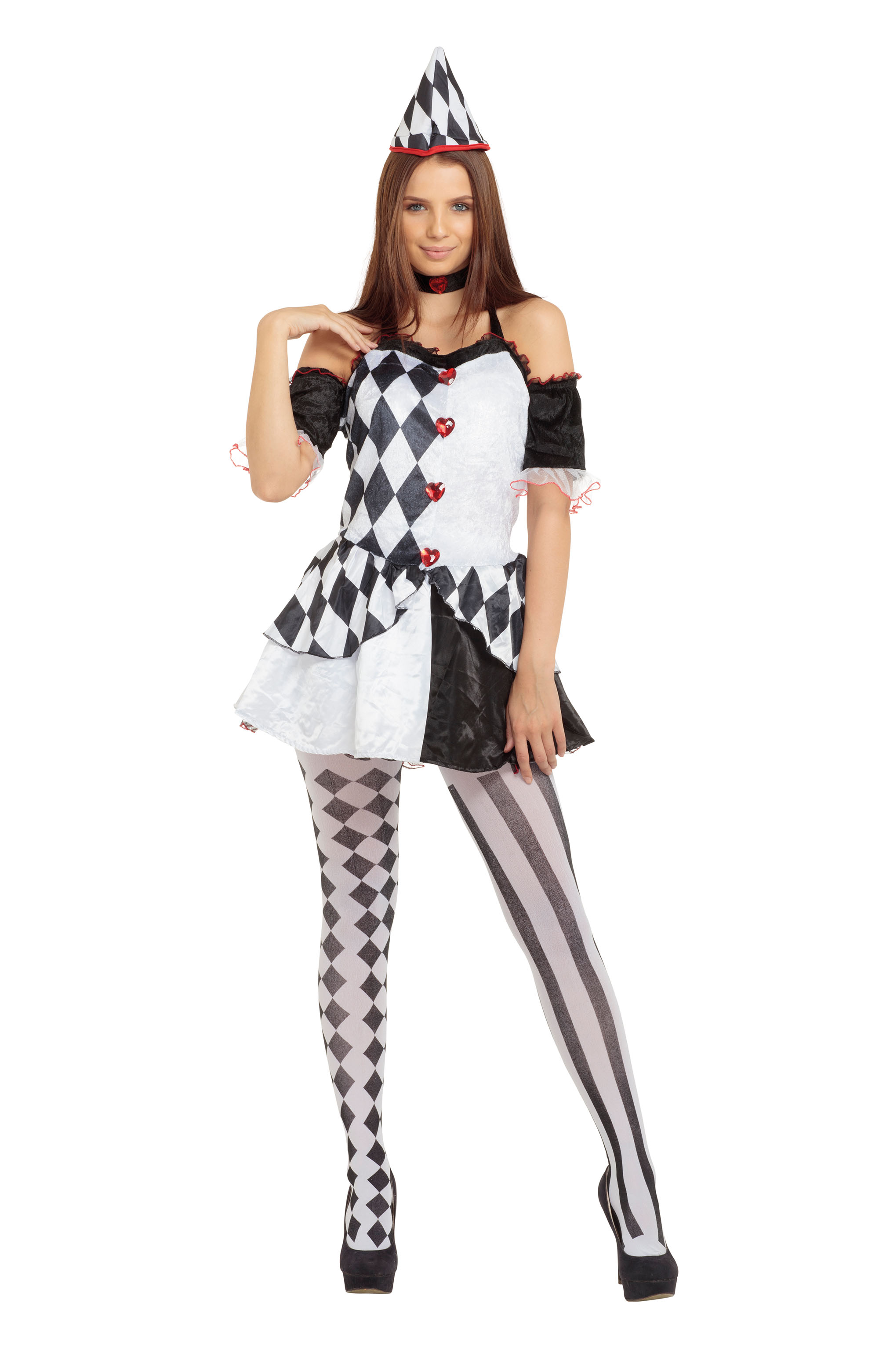 Adult Female Harlequin Costume