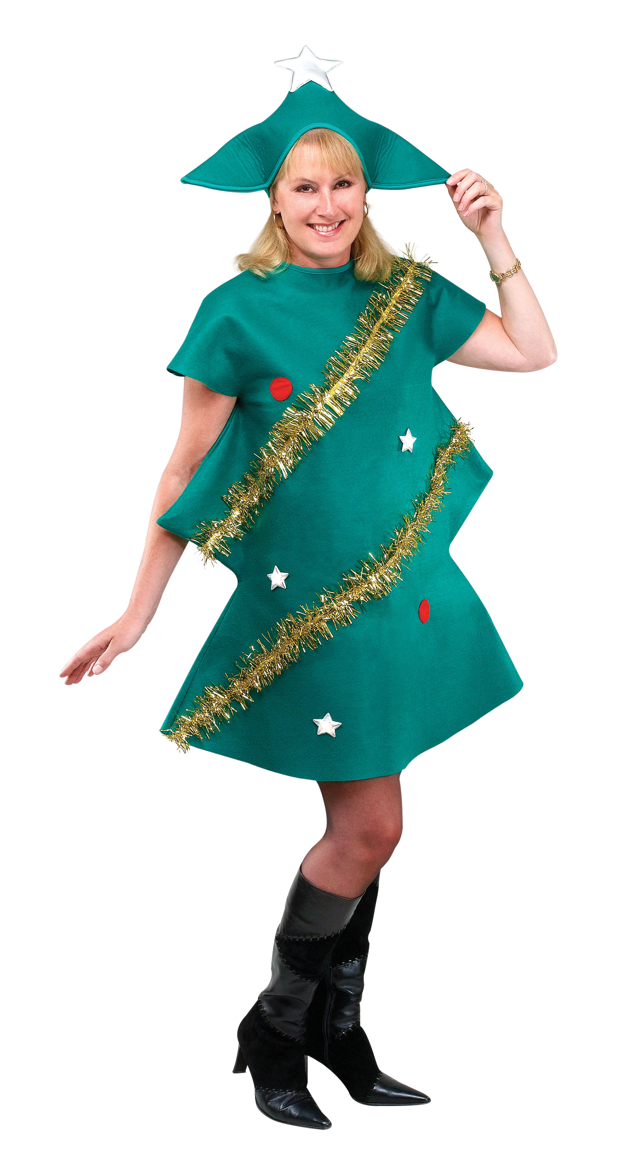 Adult Unisex Christmas Tree Costume
