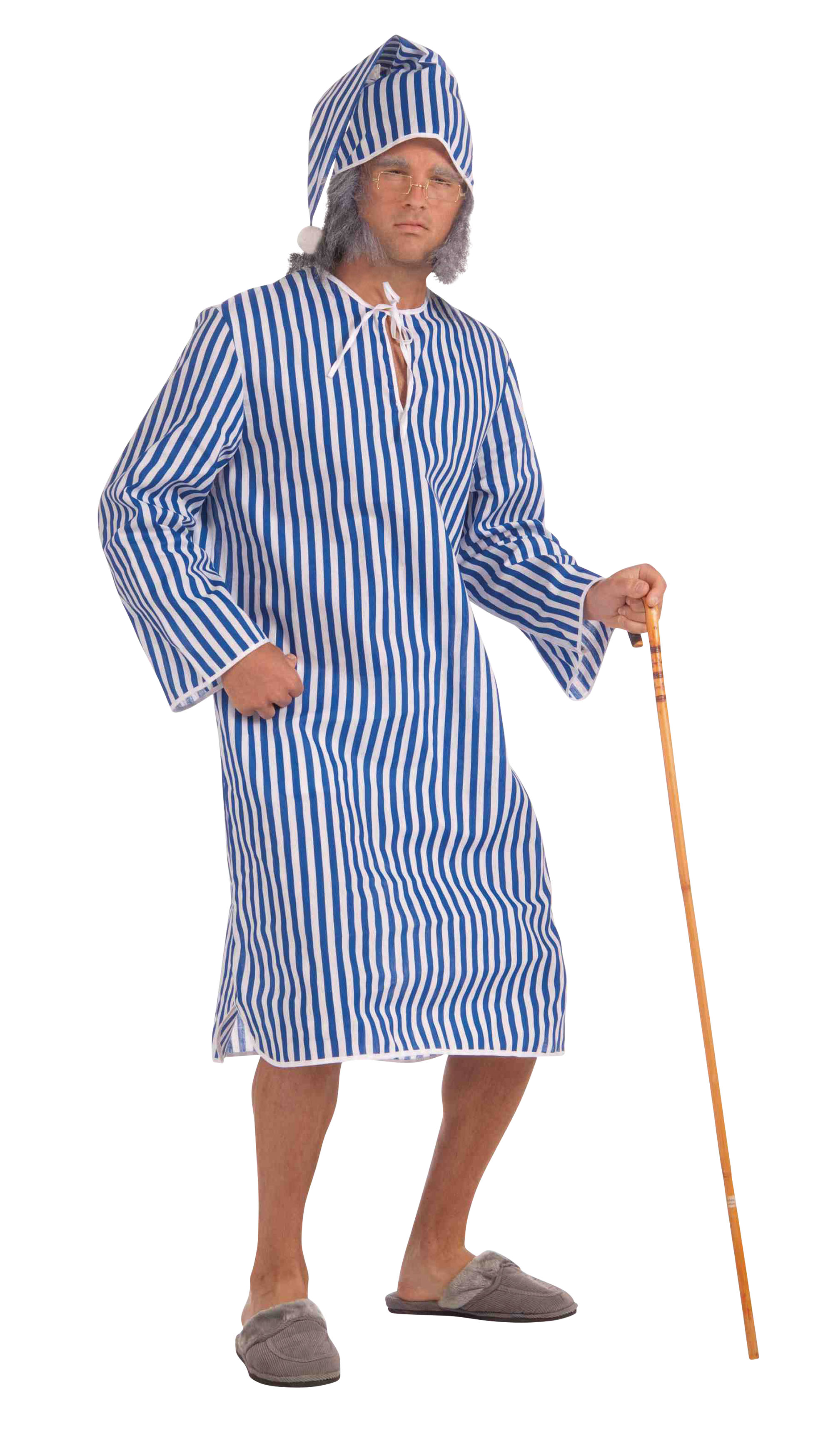 Adult Scrooge Nightshirt and Cap