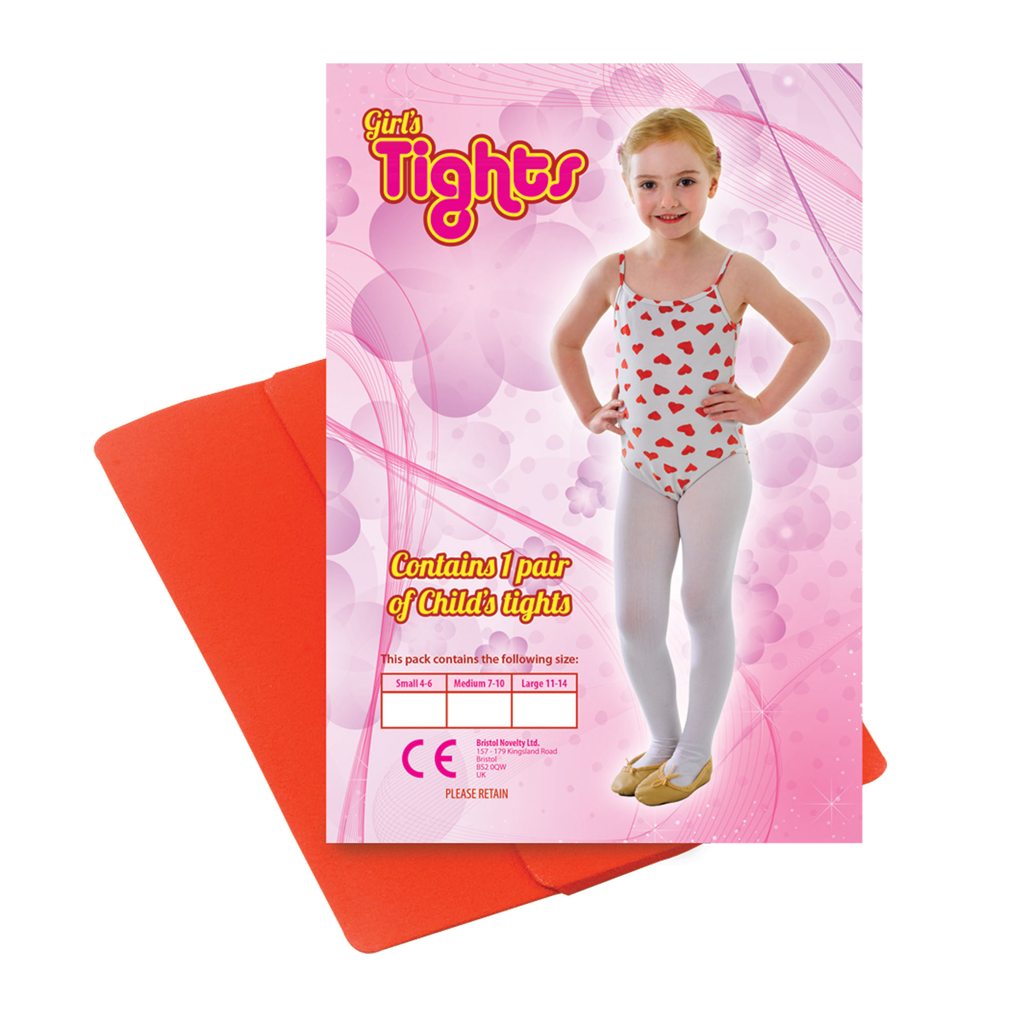 One Pair of Red Childs Tights