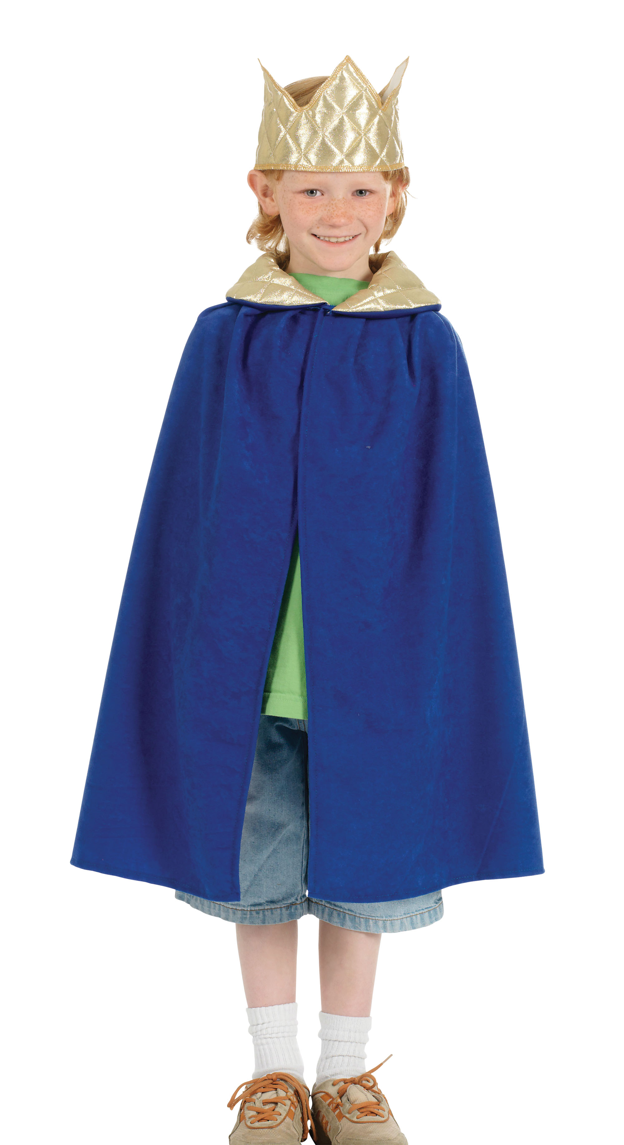 Girls or Boys Blue Christmas Nativity King Tabard