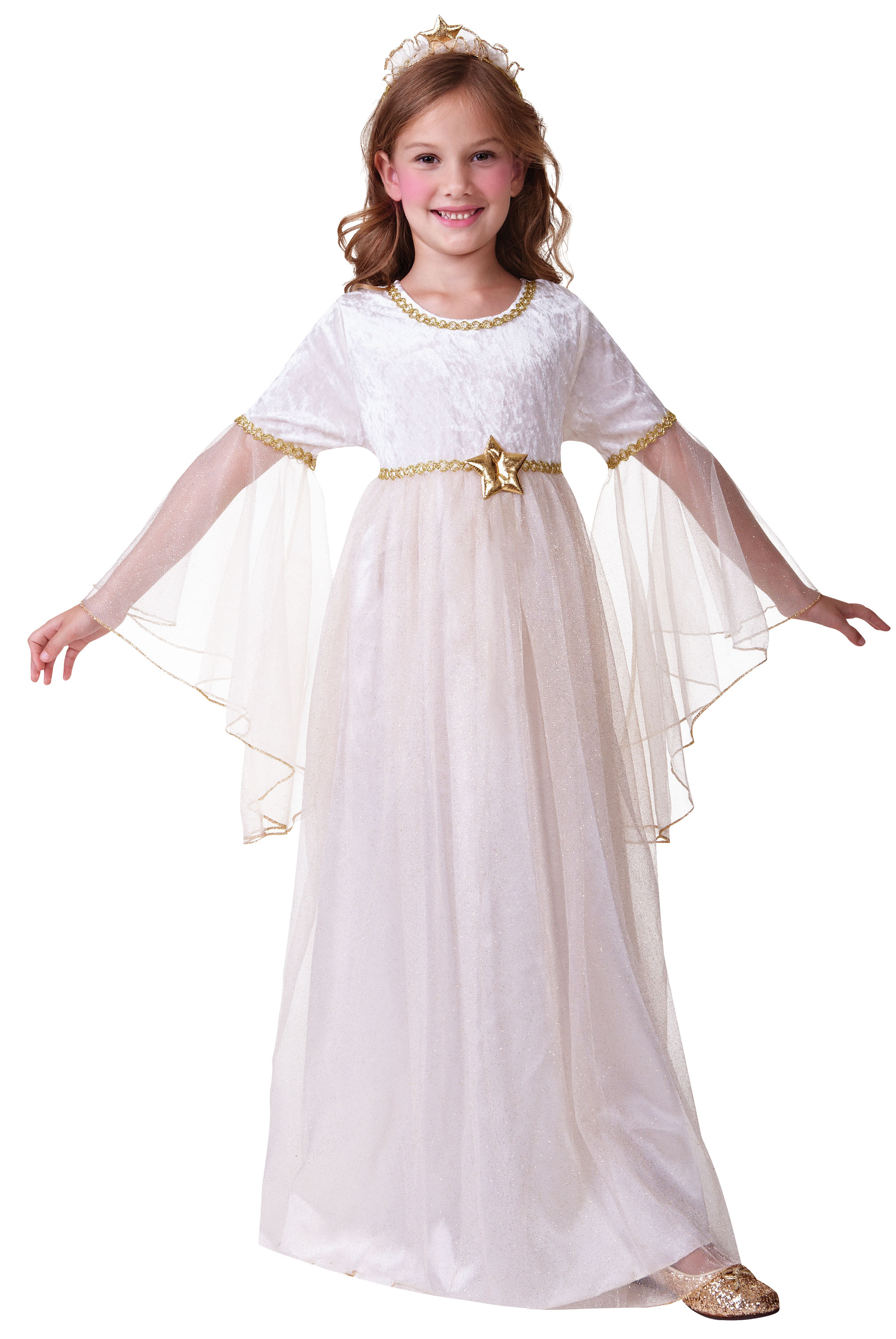 Childs Long Sleeves Angel Costume
