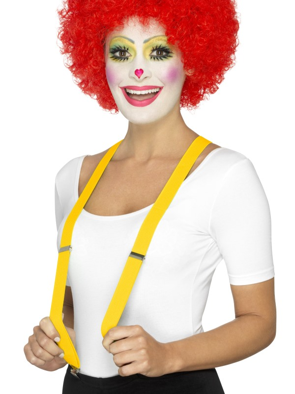 Adult Yellow Clown Braces