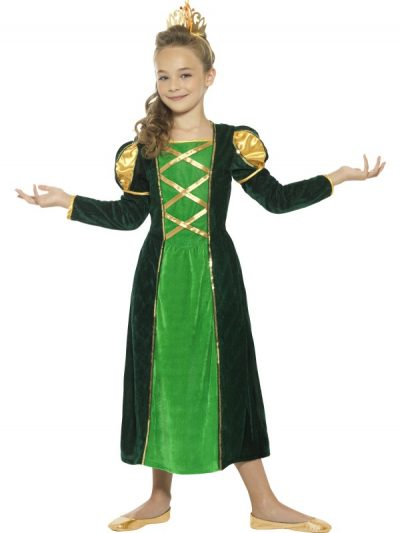 Child's Medieval Princess Costume.