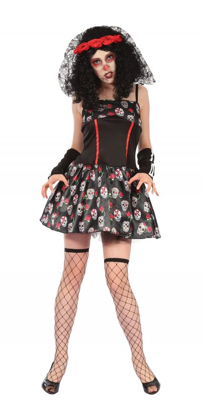 Adult size Day of the Dead Skeleton Dress