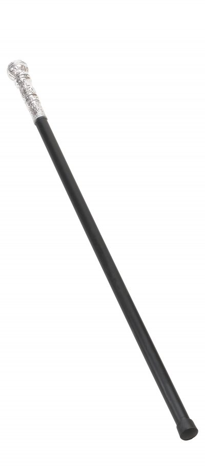 Adult Fancy Dress Cane with Silver Ball Handle