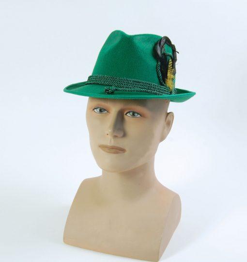 Green Oktoberfest Felt Hat