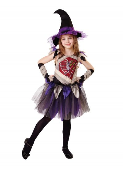 Child's Zombie Witch Halloween Costume CF009